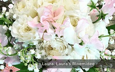 Boeket bloemen laura bloemidee