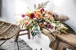 boeket roos stoel online bloemengroothandel bloomer