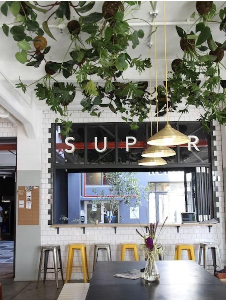 Zuid Afrikaanse koffie bar